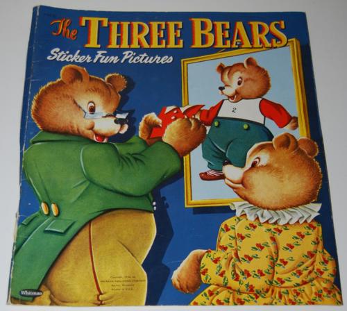 The three bears sticker fun