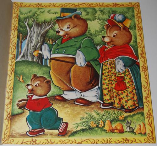 The three bears sticker fun 1