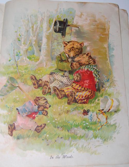 Vintage 3 bears book 2