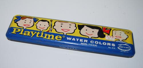 Playtime watercolors tin