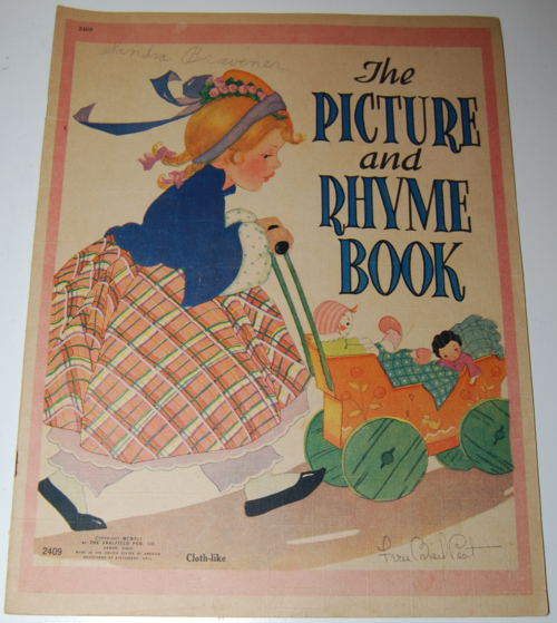 Picture & rhyme book