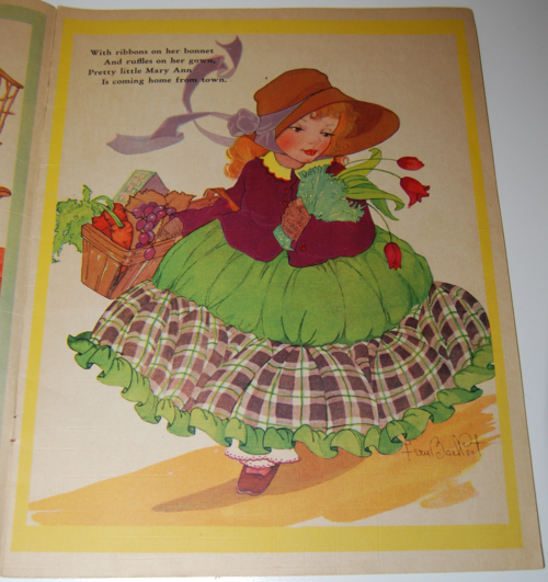 Picture & rhyme book 3