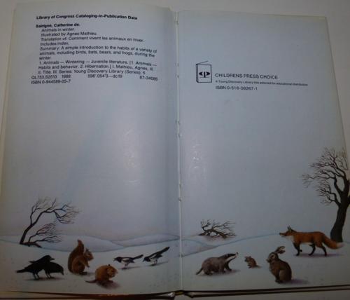 Animals in winter 1985 1