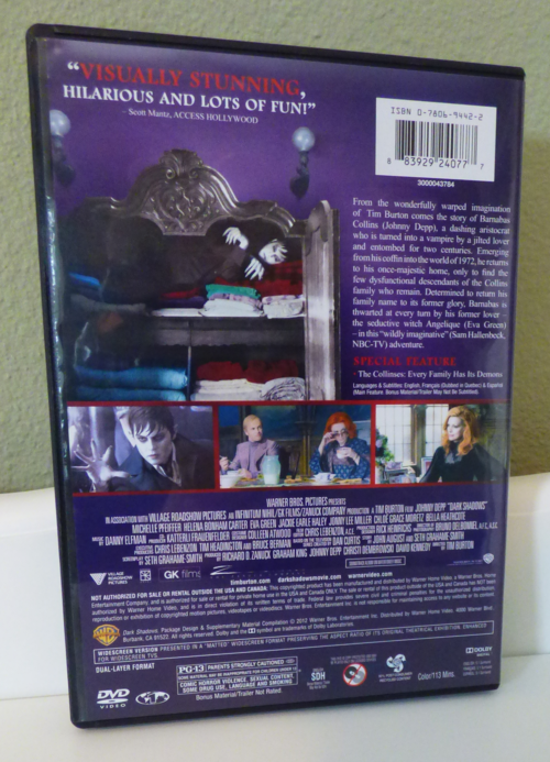 Dark shadows dvd x