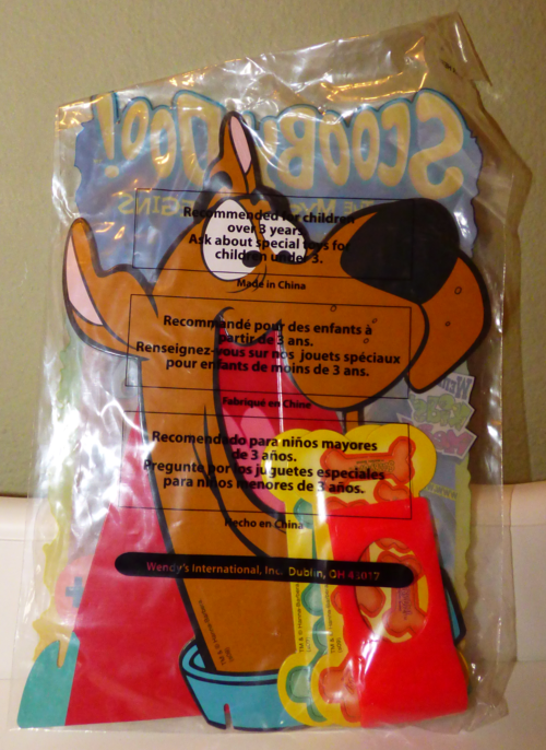 Scooby doo wendy's prizes 2