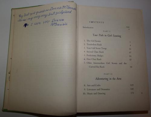 Girl scount handbook 1956 x