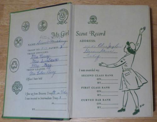 Girl scout handbook 1956