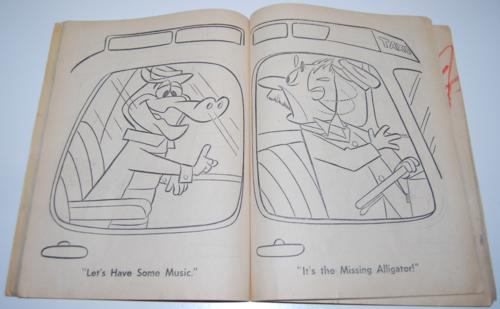 Wally gator coloring book 2