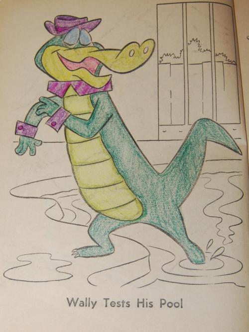 Wally gator coloring book 3