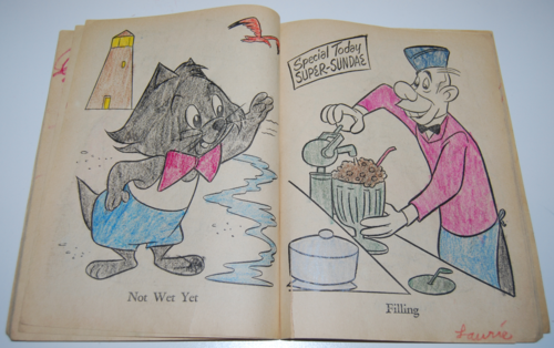 Wally gator coloring book 5
