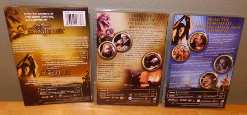 Jim henson's the storyteller dvds x