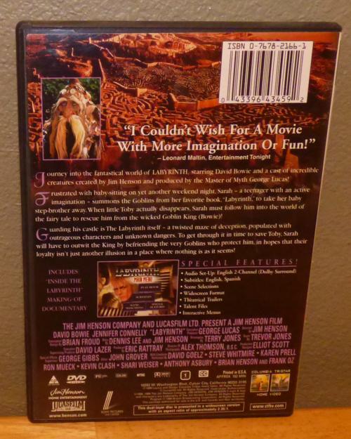 Labyrinth dvd x