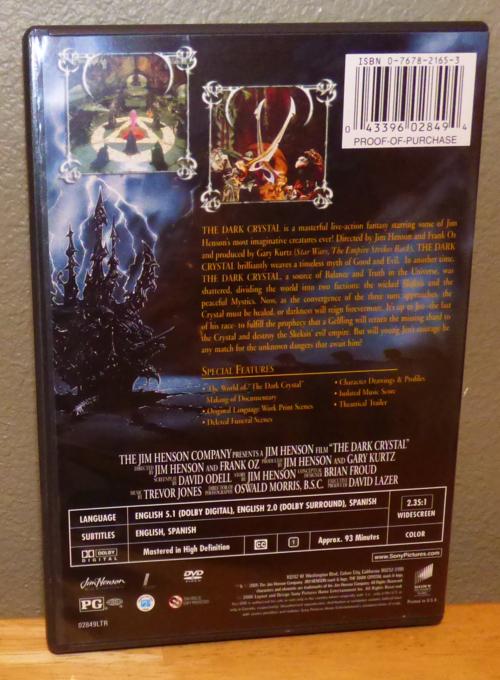 The dark crystal dvd x