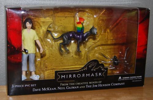 Mirrormask figures