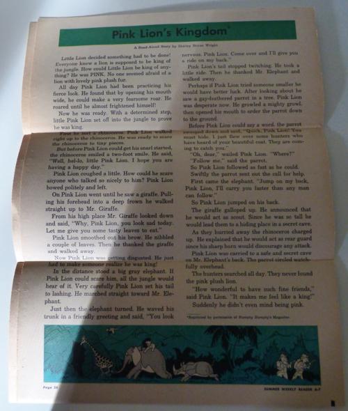 Weekly reader summer 1964 5