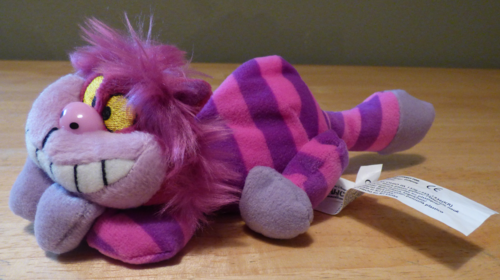 Mini cheshire cat plush 4