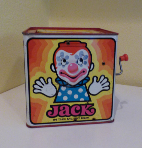 Mattel tin jack in the box