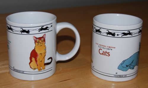 Cat lovers ltd mugs