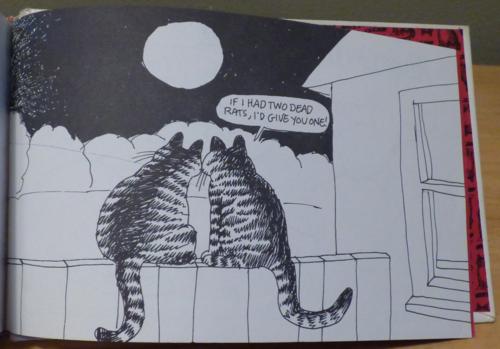 Kliban cat clothback first edition 6