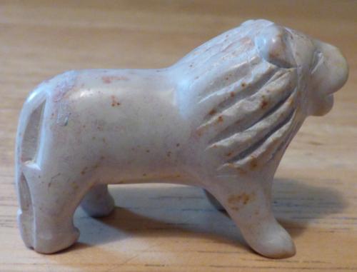 Soapstone lion 1