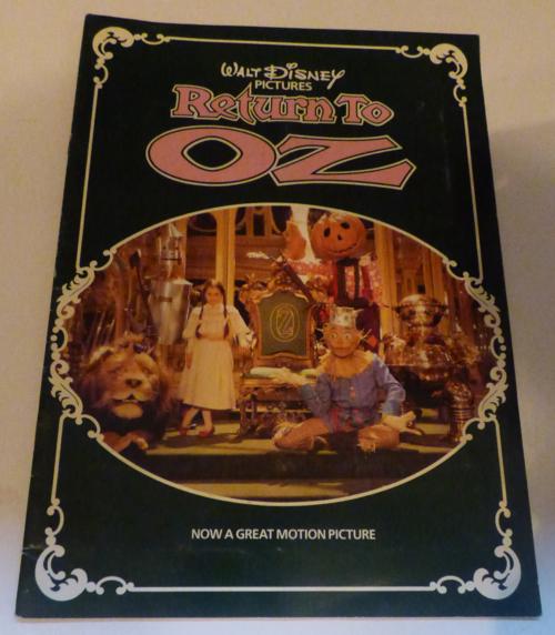 Return to oz movie book