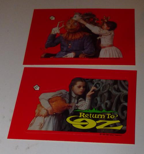Return to oz cards 6