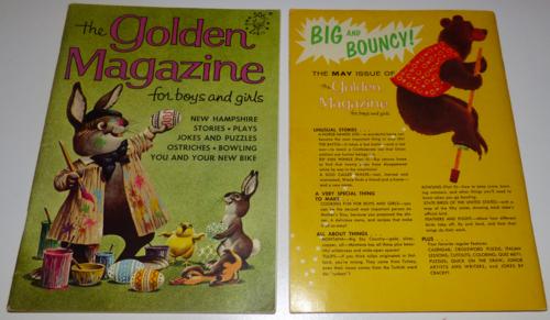 Golden magazine april 1966
