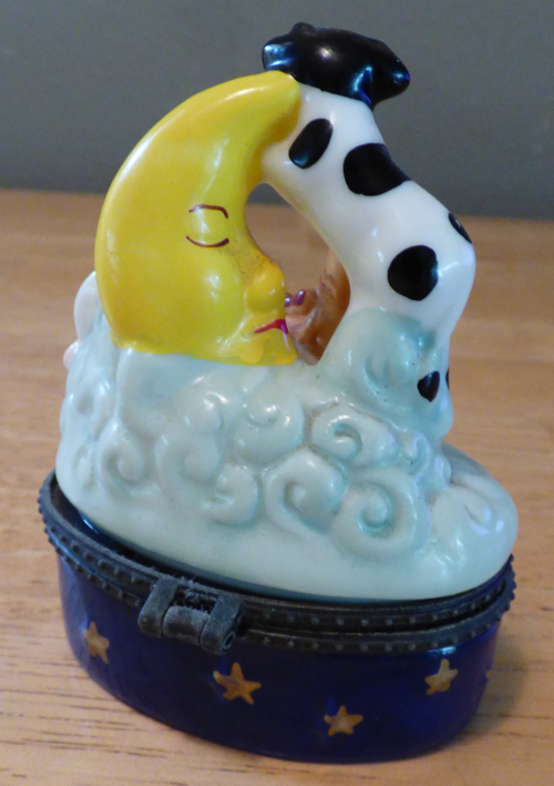 Hey diddle diddle ceramic box 2