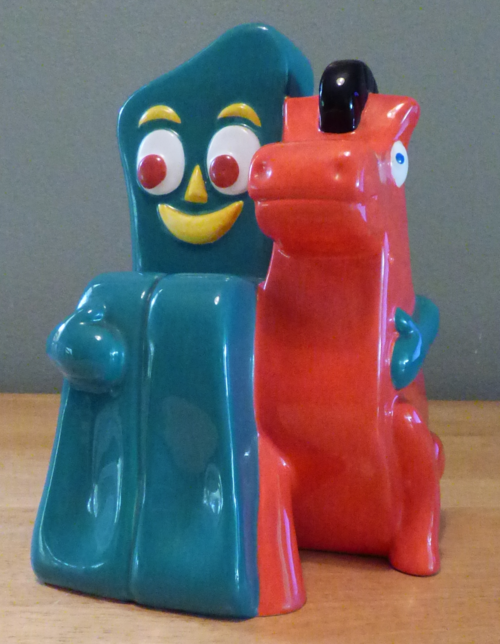 Gumby & pokey bank