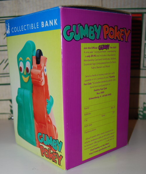 Gumby pokey bank