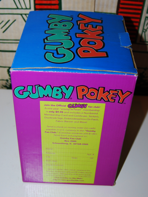 Gumby pokey bank 4