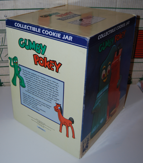 Gumby pokey cookie jar 2