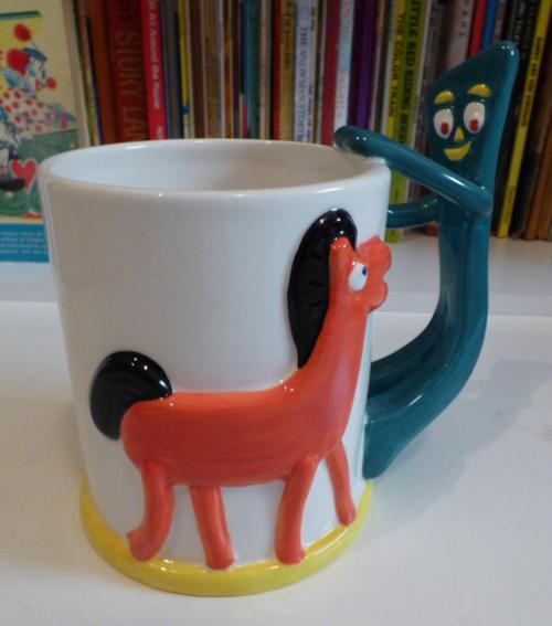 Gumby & pokey cocoa mug 1
