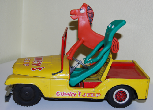 Gumby tin jeep lakeside 8
