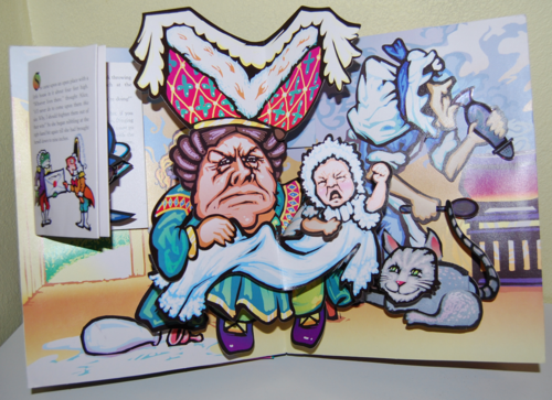 Alice popup book6