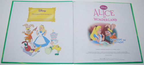 Alice in wonderland disney 2009