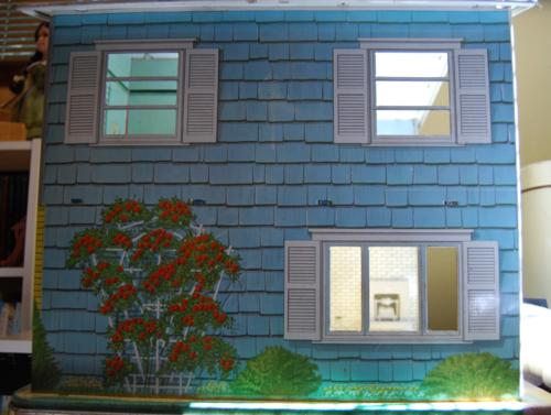 Marx vintage tin house 50s end