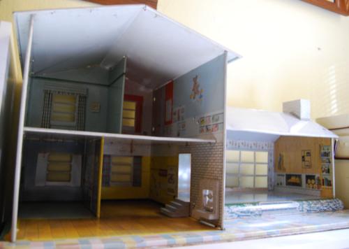 Marx vintage tin house 50s 2