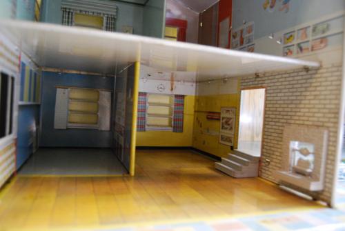 Marx vintage tin house 50s 4