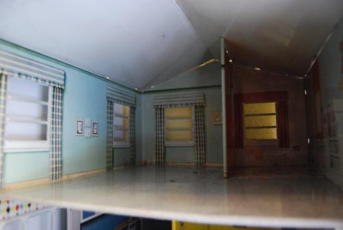 Marx vintage tin house 50s 10