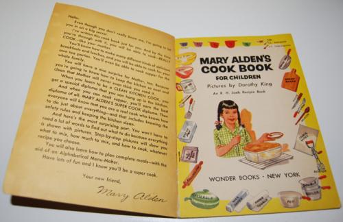 Mary alden's cookbook for children 2