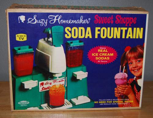 Suzy homemaker soda fountain box