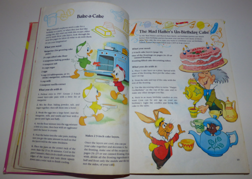 Walt disney's mickey mouse cook book5