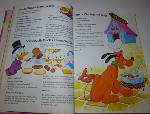 Walt disney's mickey mouse cook book8