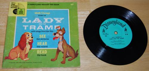 Disney book record lady tramp