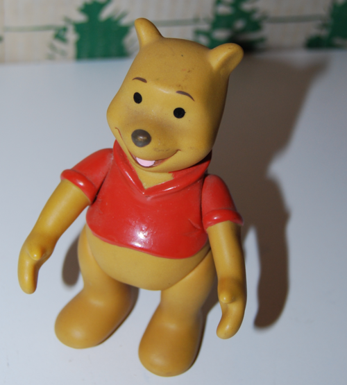 Vintage winnie the pooh figure