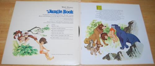 Disney jungle book vinyl lp 1