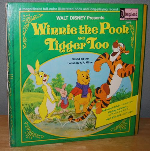 Disney winnie the pooh vinyl lp