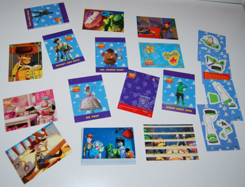 Toy story skybox trading cards 8
