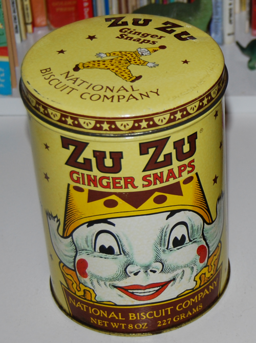 Zuzu ginger snaps tin